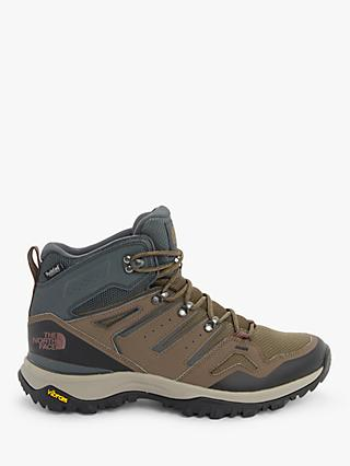 The North Face Hedgehog Fastpack II Men's Waterproof Hiking Boots, Brown/Dark Grey