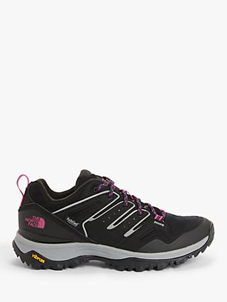 The North Face Hedgehog Fastpack II Women's Waterproof Hiking Shoes, TNF Black/Mr. Pink