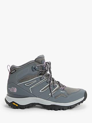 The North Face Hedgehog Fastpack II Women's Waterproof Hiking Boots, Grey/Mauve Shadows