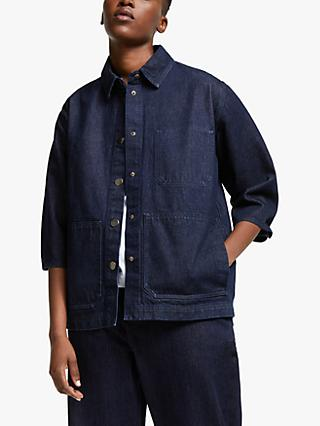 Kin Denim Utility Jacket, Navy