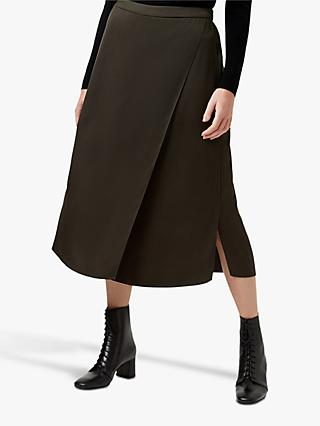 Hobbs Dionne Skirt, Dark Green
