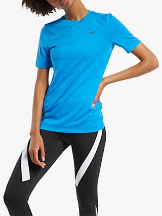 Reebok Workout Ready Supremium Training Top, Horizon Blue