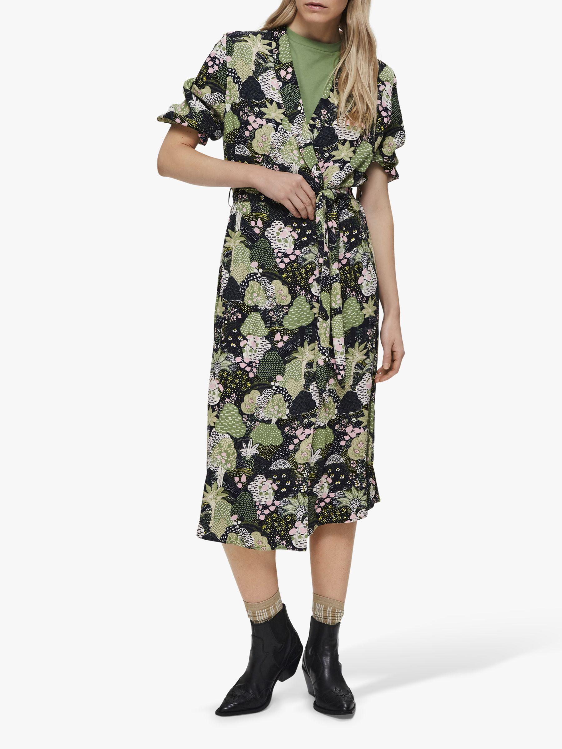Selected Femme Selected Femme Marina Florenta Midi Dress, Multi