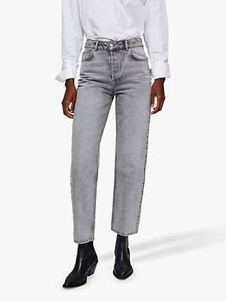 Selected Femme Kate Straight Leg Jeans