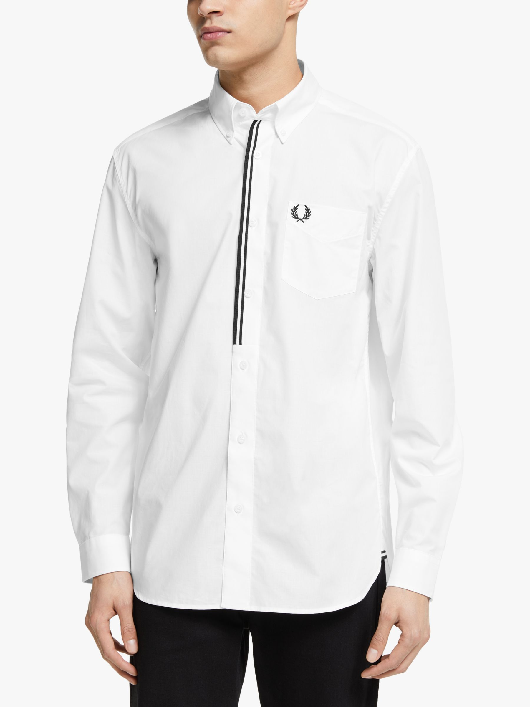 Fred Perry Fred Perry Taped Placket Shirt