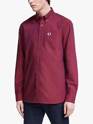 Fred Perry Oxford Shirt, Port