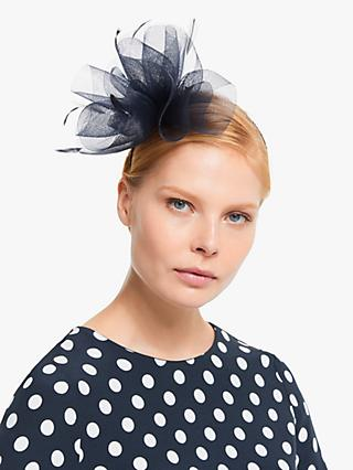 John Lewis & Partners Amelia Feather Quills Multi Loop Fascinator