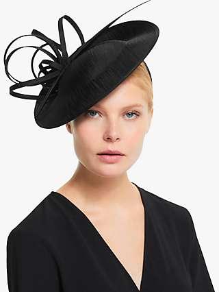 John Lewis & Partners Erin Swirl Downturn Disc Occasion Hat
