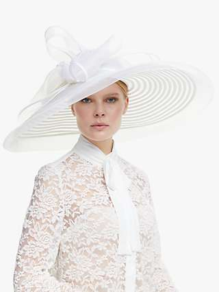 John Lewis & Partners Celia Statement Loop Occasion Hat