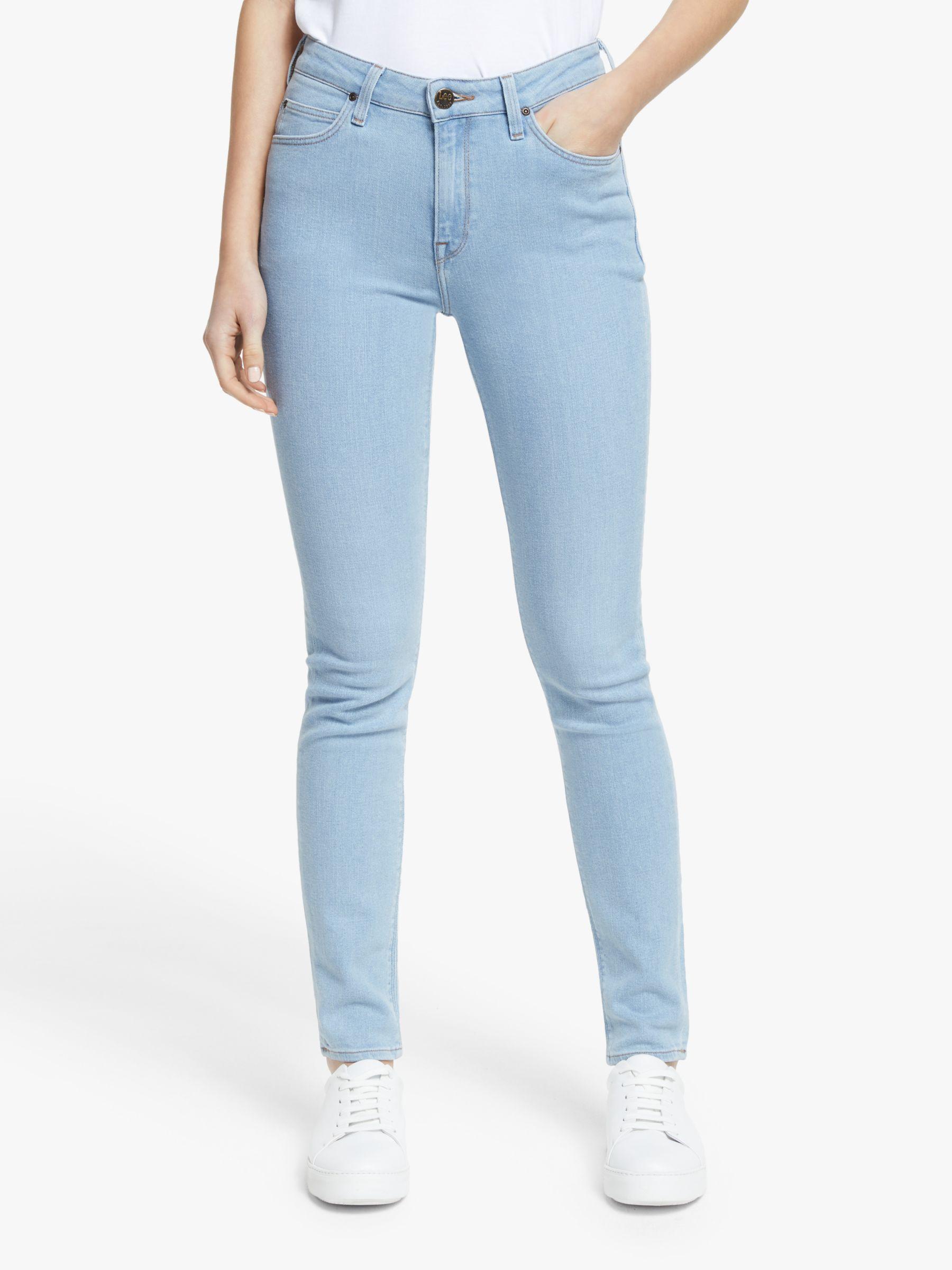 Lee Lee Scarlett High Waist Skinny Jeans, Vintage Light