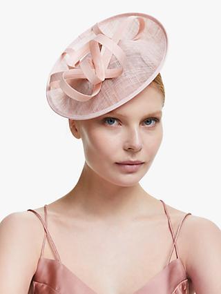 John Lewis & Partners Beatrice Loop Disc Occasion Hat