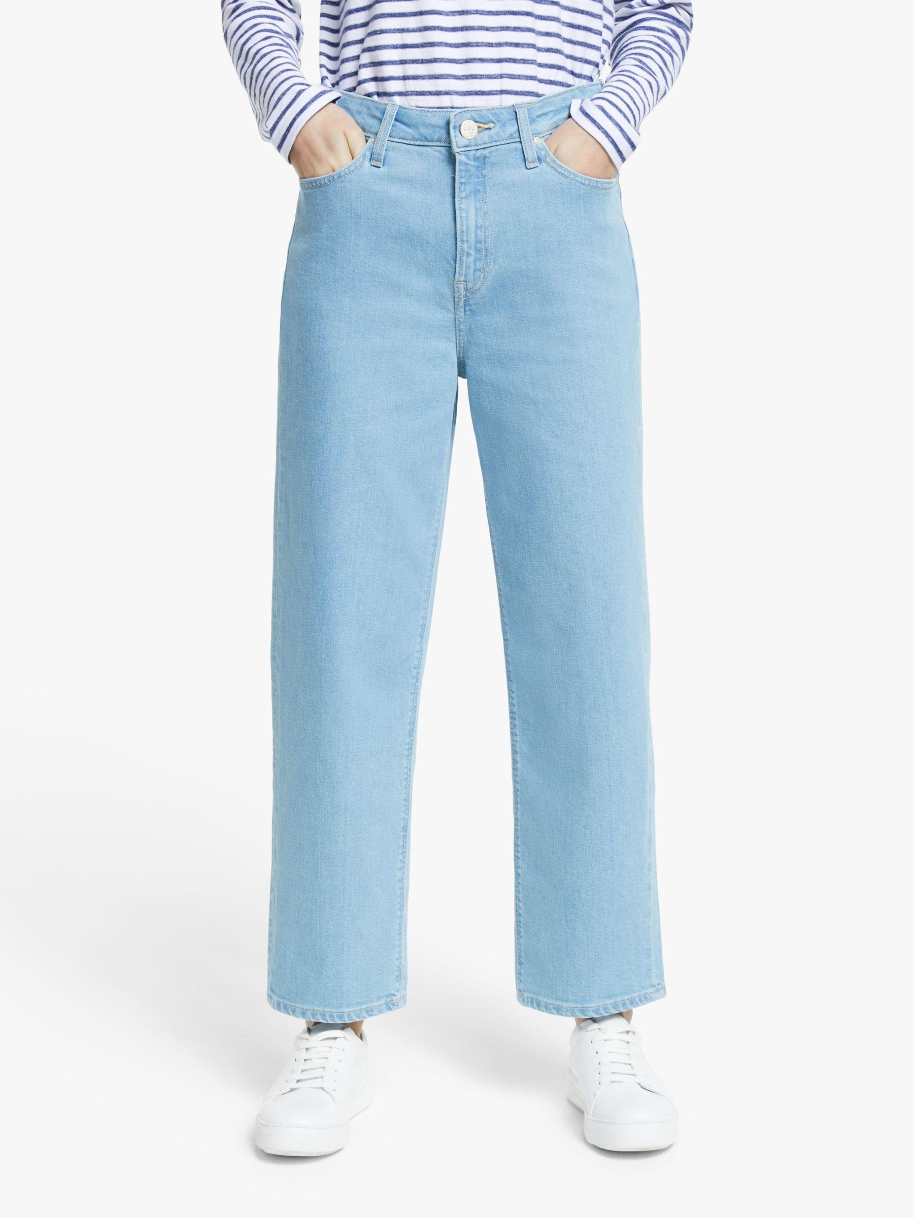Lee Lee Wide Leg High Waist Jeans, Fernwood Light