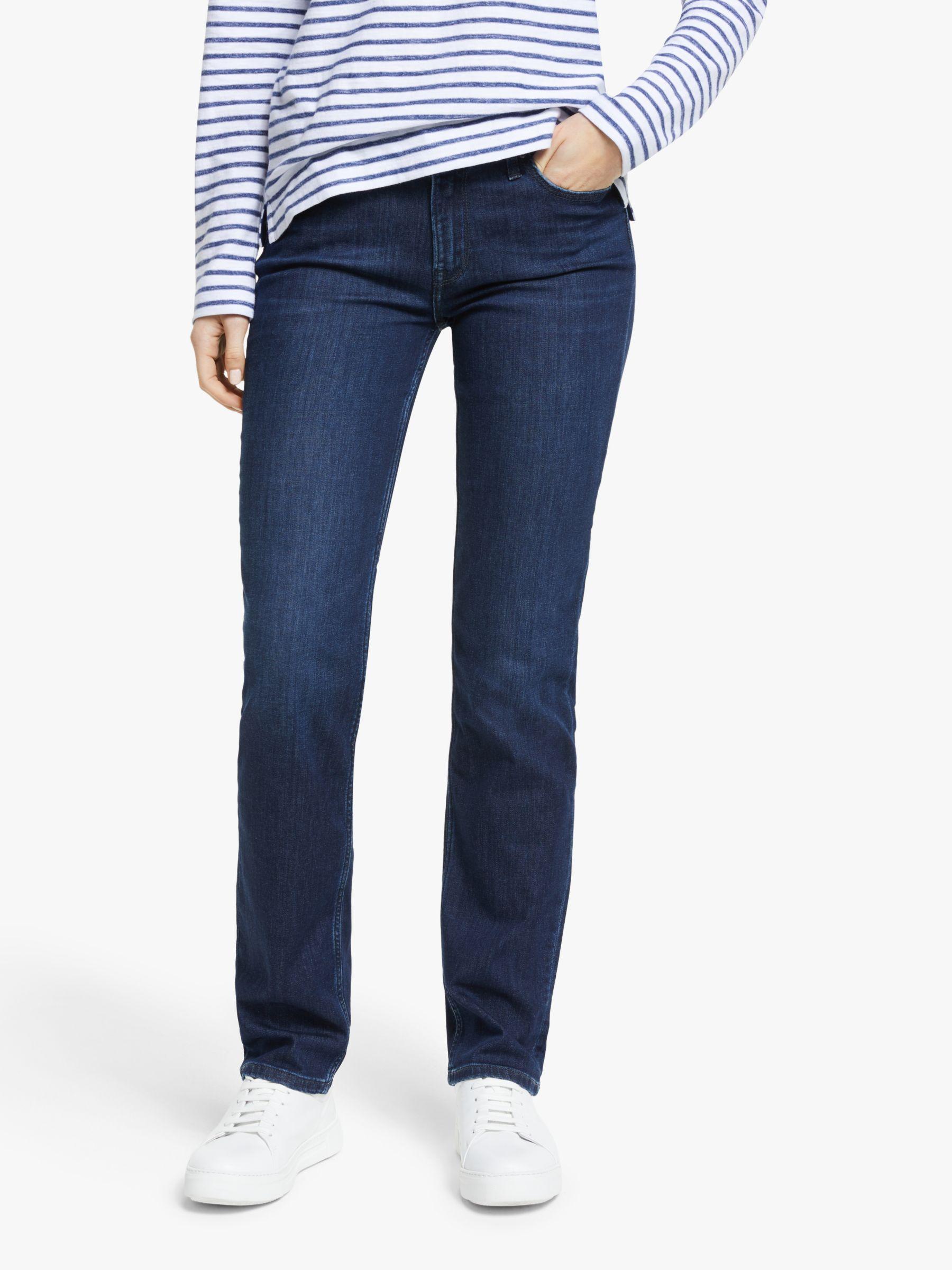 Lee Lee Marion Regular Straight Leg Jeans, Dark Truxel