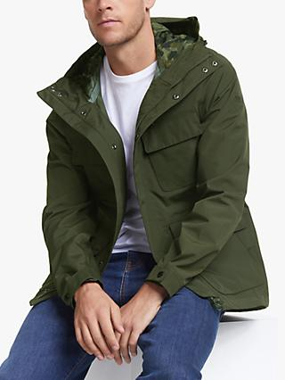 Barbour International Holborn Hooded Parka Jacket, Sage