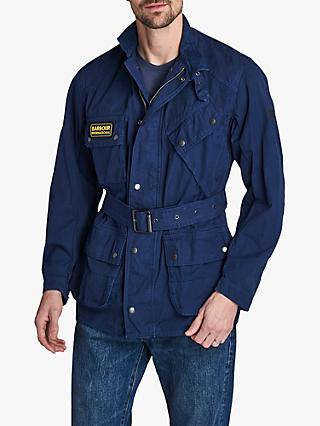 Barbour International Coloured A7 Washed Cotton Jacket