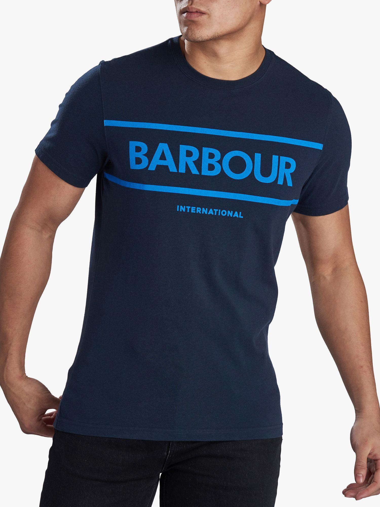 barbour t shirt mens