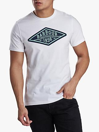 Barbour International Compressor Logo T-Shirt, White