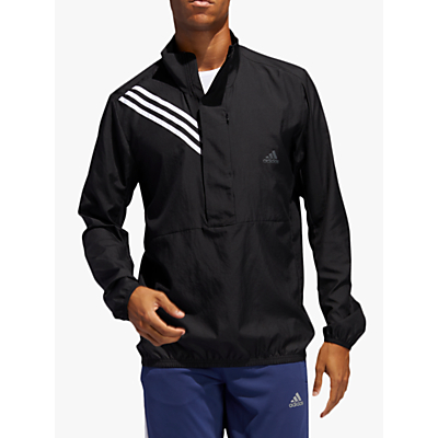 Product photo of Adidas run it 3stripes men s running jacket black