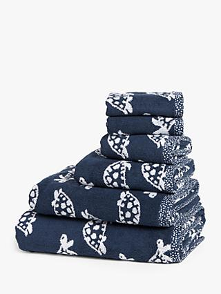 John Lewis & Partners Turtles Towels