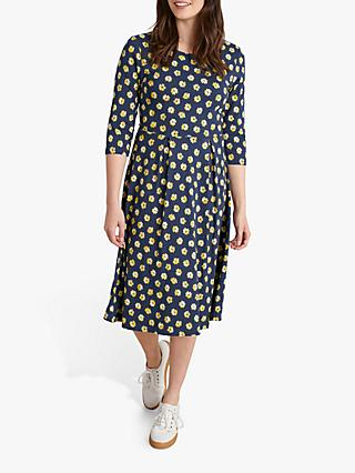 Seasalt The Mouls II Dress, Primrose Spot Dune