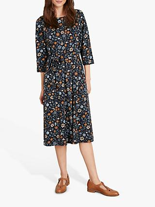Seasalt Picking Season Dress, St Martins Flowers Dark Night