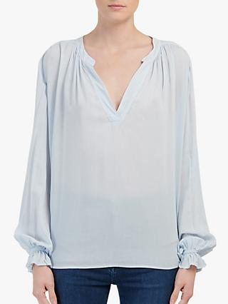 Velvet by Graham & Spencer Marlena Blouse, Blue