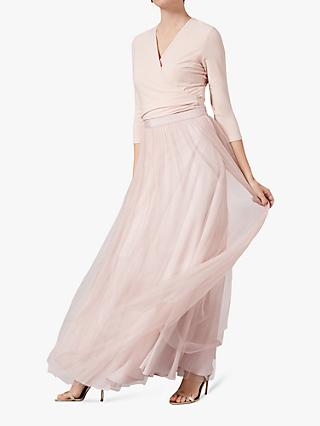 Phase Eight Aneeka Tulle Skirt, Cameo Pink
