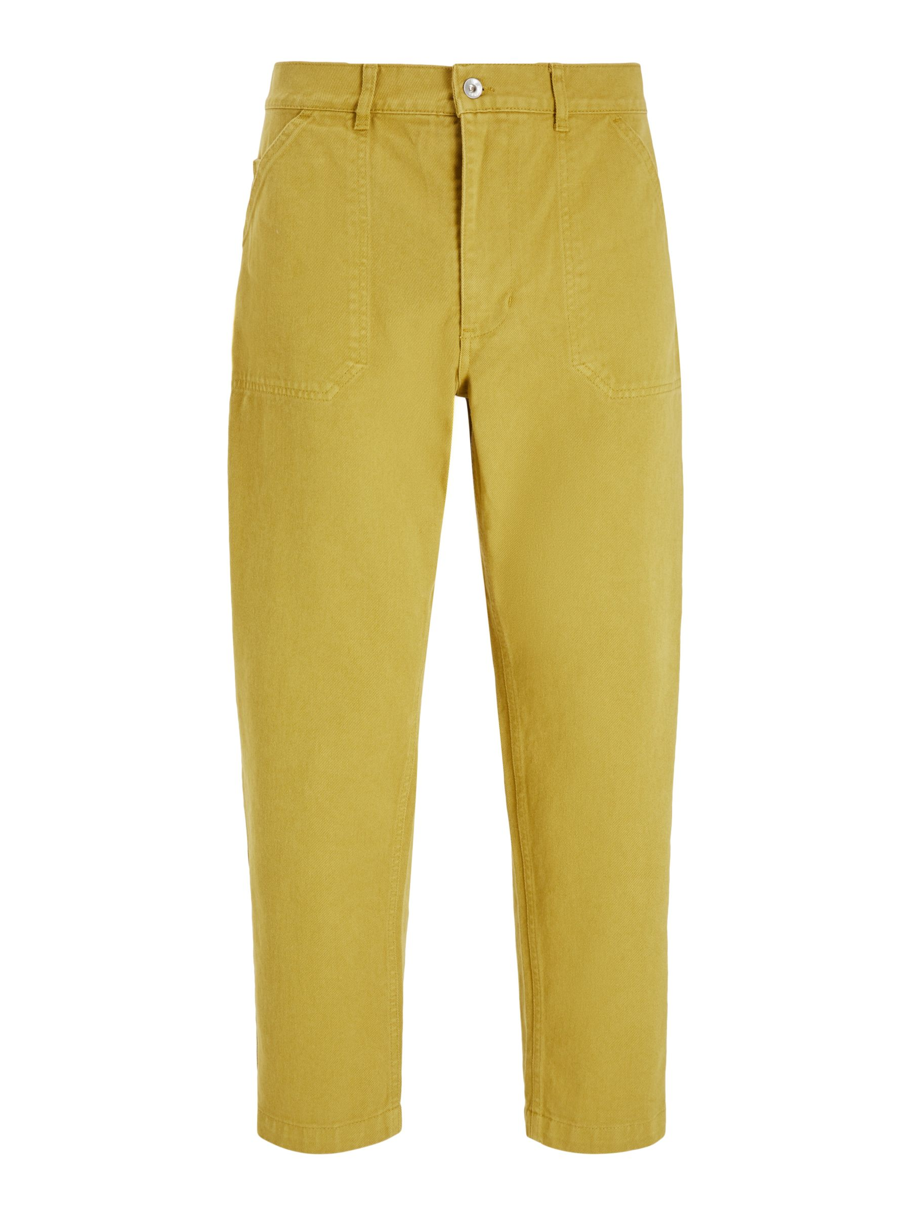 Buy Albam Utility Slim Fit Work Trousers, Tobacco, 30R Online at johnlewis.com