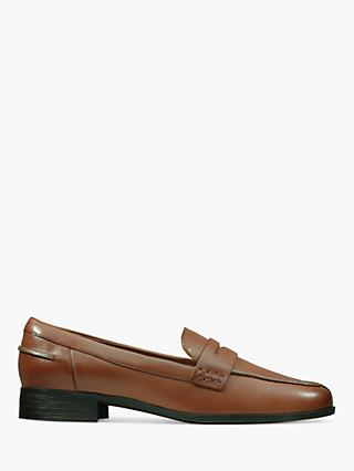 Clarks Hamble Leather Loafers