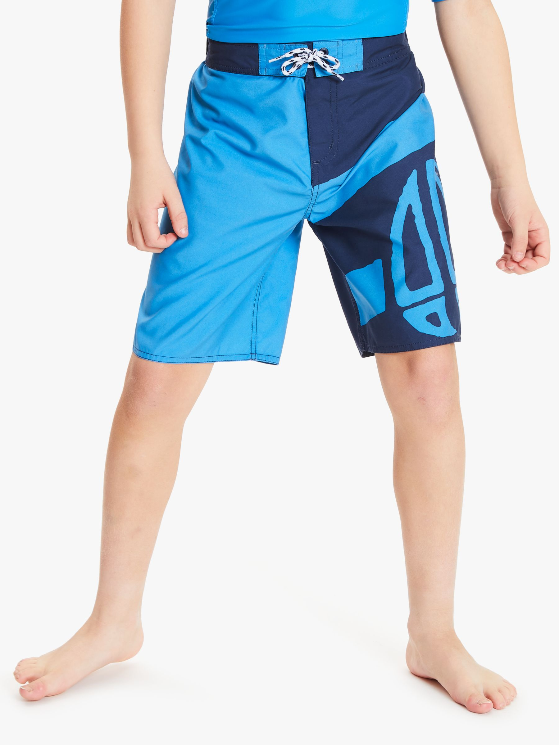Animal Animal Boys' Layka Logo Swim Shorts, Blue