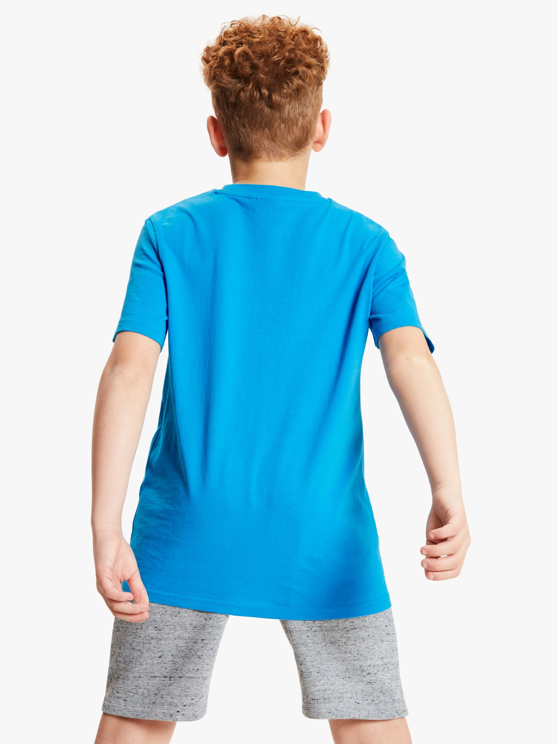 Animal Animal Boys' Logo Short Sleeve T-Shirt, Blue