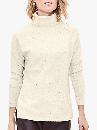 Oasis Nora Nep Ribbed Jumper, Multi