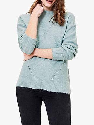 Oasis Argyle Stitch Jumper