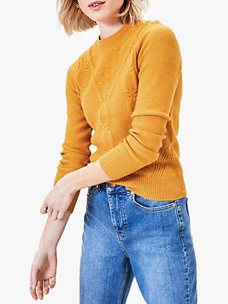 Oasis Textured Neat Jumper