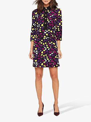 Damsel in a Dress Sheri Abstract Print Mini Shirt Dress, Multi