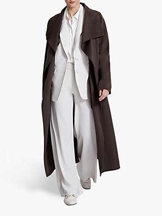 Winser London Lauren Wrap Wool Blend Coat