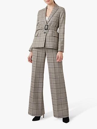 Hobbs Hailey Wool Blazer Jacket, Multi