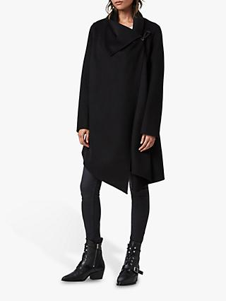 AllSaints Wool Blend Monument Eve Coat
