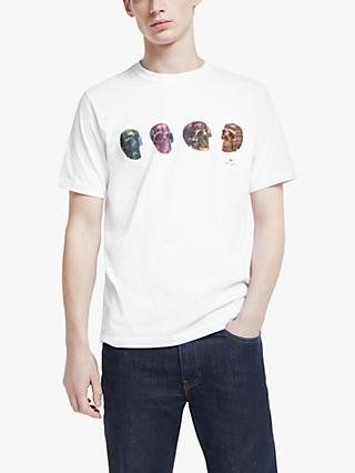 PS Paul Smith Short Sleeve Bones T-Shirt, White