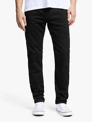 Paul Smith Reflex Super Stretch Slim Jeans, Black