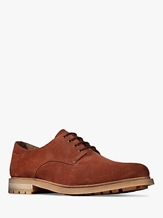 Clarks Foxwell Hall Suede Derby Shoes