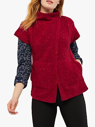 White Stuff Pinewood Cardigan, Red