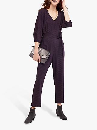 White Stuff Ilda Jumpsuit, Charcoal