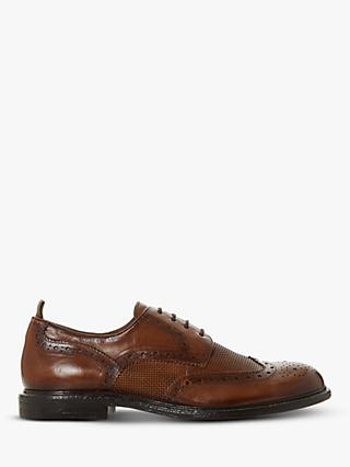 Bertie Salvage Leather Brogues