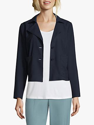 Betty & Co. Simple Short Blazer, Navy