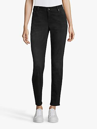 Betty & Co. Five Pocket Skinny Jeans, Black Denim