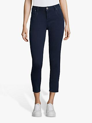 Betty & Co. Four Pocket Textured Jeans, Navy