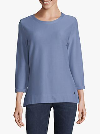 Betty & Co. Textured Top, Colony Blue