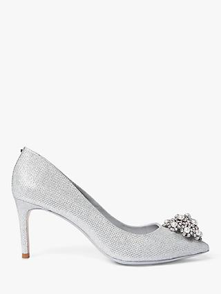 Ted Baker Darlils Brooch Detail Court Shoes