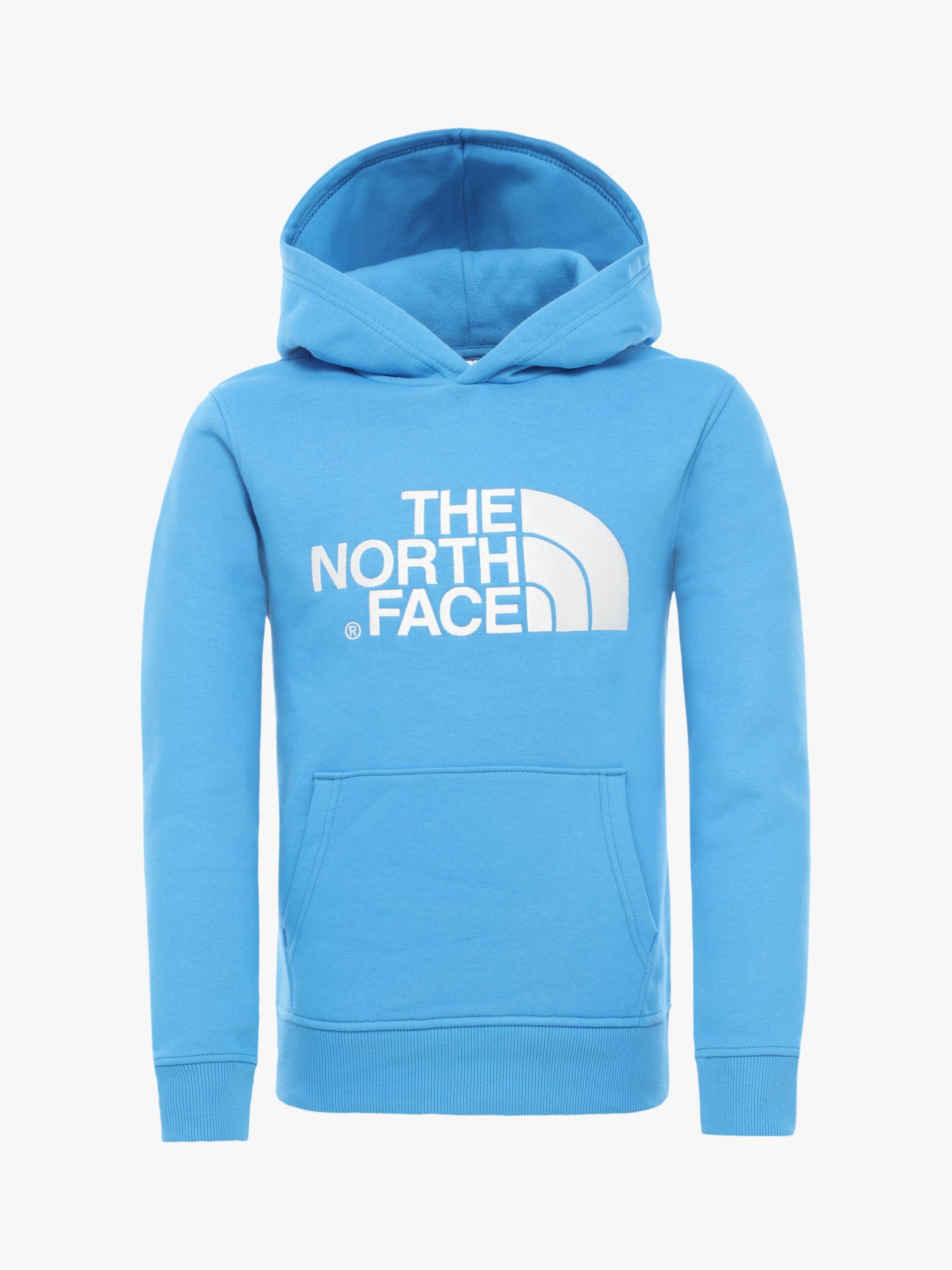 The North Face Boys Peak Hoodie Blue At John Lewis Partners